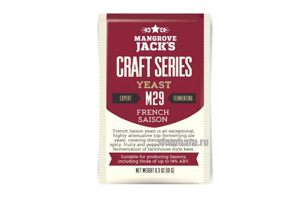 Дрожжи пивные Mangrove Jack's French Saison M29