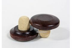 Пробка корковая с доп деревянным верхом 50*14,2*20,2 мм PIECAP