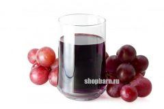 Сок концентрированный Красный виноград (Россия)